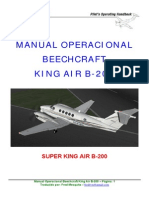 King b200 - Manual Br
