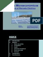 Modelos Microeconómicos aplicados al mercado eléctrico