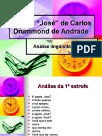 Análise Do Poema José de Drummond