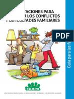 orientacion para afrontar los conflictos y dificultades familiares