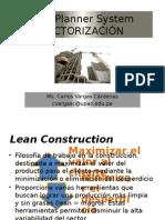 Last Planner - Sectorización