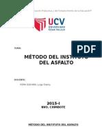 2. Metodo Del Instituto Del Asfalto