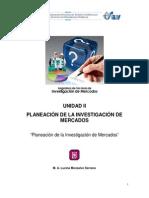 2.3 Planeacion de La Investigacion de Mercados
