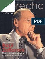 Entrevista Exclusiva Con Raul Zaffaroni Justicia TRANSICIONAL