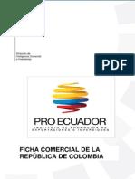 ficha comercial Colombia