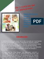 Alimentacion y alimetacionNutricion Del Niño y Adolescente