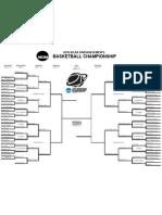 Men's NCAA Division III Basketball Bracket