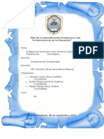 GRUPO 5 Balanced Scorecard Elemento de Planificacion Estrategica