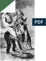 Goya-SELECCION DE GRABADOS
