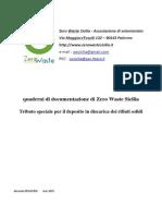 RIFIUTI 2015 Tributo Speciale Per Il Deposito in Discarica Dei Rifiuti Solidi - Versione Al 31-3-2015