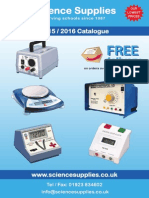 Science Supplies Catalogue - 2015/2016