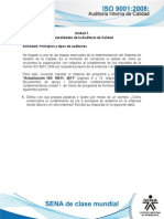 Actividad de Aprendizaje Unidad 1 - Principios y Tipos de Auditorias