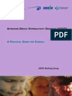 Adhd - A Practical Guide for Schools