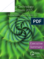 IEA Energy Technology Perspectives 2015 Executive Summary