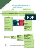 Manual de Técnicas Cualitativas y Cuantitativas