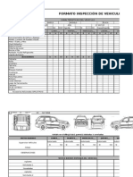 Formato Inspeccion Vehiculos Livianos