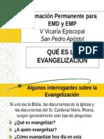 Que Es Evangelizacion