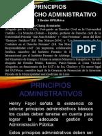 Principios de Derecho Administrativos