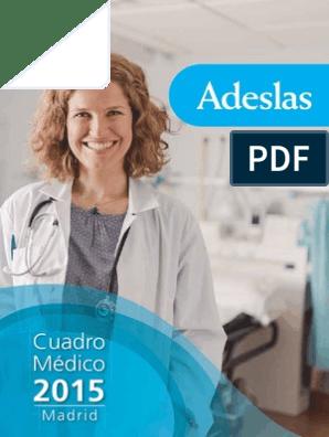 Adeslas Madrid Pdf Radiología Hospital