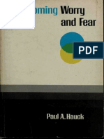 R.E.B.T.-overcoming Worry and Fear-Paul a. Hauck