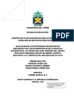 Anteproyecto de Monografia Evaluacion de Las Estrategias de Inivacion Empleadas Por Los Maestros (2)