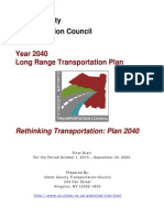 Ulster County Transportation Council long-range plan