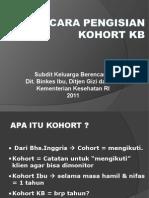 4.Cara Isi Kohort Kb