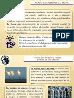 ACIDO SULFHIDRICO ( H2S)