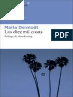 diez mil cosas, Las - Maria Dermout.epub