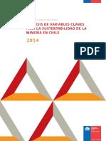 Analisis de Variables Claves Para La Sustentabilidad de La Minería en Chile