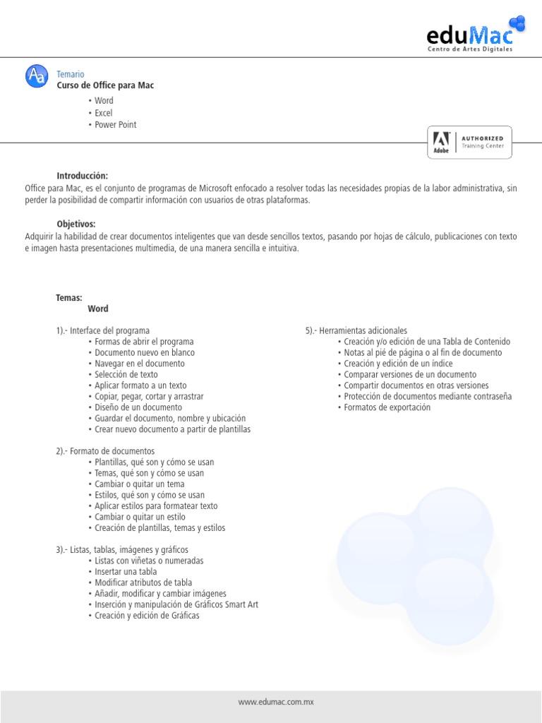 Asombroso Plantillas De Mac Office Embellecimiento - Ejemplo De ...