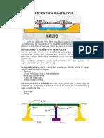 Puentes Tipo Cantilever