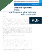 ZUKERFELD, MARIANO. de Niveles Regulaciones Capitalistas y Cables Submarinos. Una Introducción a La Arquitectura Política de Internet