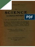 Lenain Lazare - La science cabalistique ou l'art de connaître les bons génies.pdf