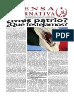 Periódico Num 30 Prensa Alternativa Del 7 Al 13 de Septiembre de 2015