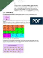 1. Clase Proteínas