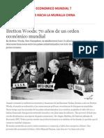 Un Nuevo Orden Economico Mundial Por Luis Peralta