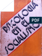 Psicologia en El Socialismo