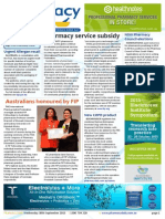 Pharmacy Daily for Wed 30 Sep 2015 - Pharmacy service subsidy, FIP, Allergan recall, NSW Pharmacy Council elections AMPERSAND much more
