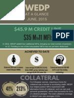 WEDP Small Business Lending, June, 2015