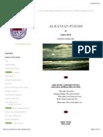 Albanian Poetry