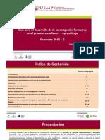 Investigacion Formativa - USMP
