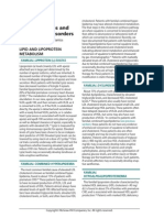 Xanthomatoses and Lipoprotein Disorders