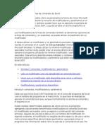 Modificadores de la línea de comandos en Excel.docx