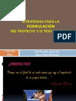 Estrategias Para La Formulación I&D