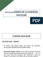 Aplicaciones Energía Nuclear