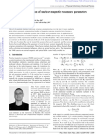 Theory and Computation of Nuclear Magnetic Resonance Parameters