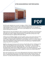 Garage Doors Safety Recommendations And Information