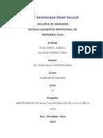 h.u.p. Bella Vista - Informe