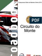 Roadbook Circuito do Monte 2010 // CRMO